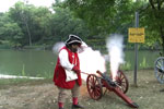 Firing demonstrations are held periodically throughout the day.